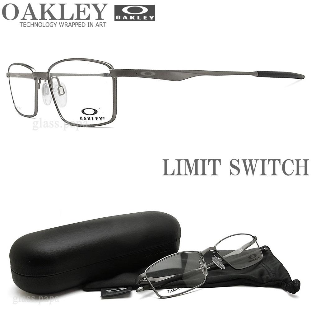 OAKLEY オークリー メガネフレーム [LIMIT SWITCH リミットスウィッチ] OX5121-0355 サイズ55 【送料無料・代引手数料無料】 眼鏡 ブランド スポーツ 伊達メガネ 度付き Satin Chrome メンズ