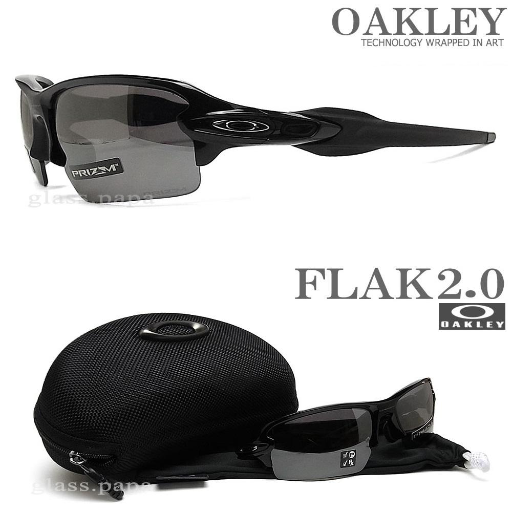 OAKLEY オークリー サングラス フラック2.0 アジアンフィット 009271-2661 [FLAK 2.0 ASIAN FIT PRIZM BLACK POLARIZED 偏光レンズ] Polished Black