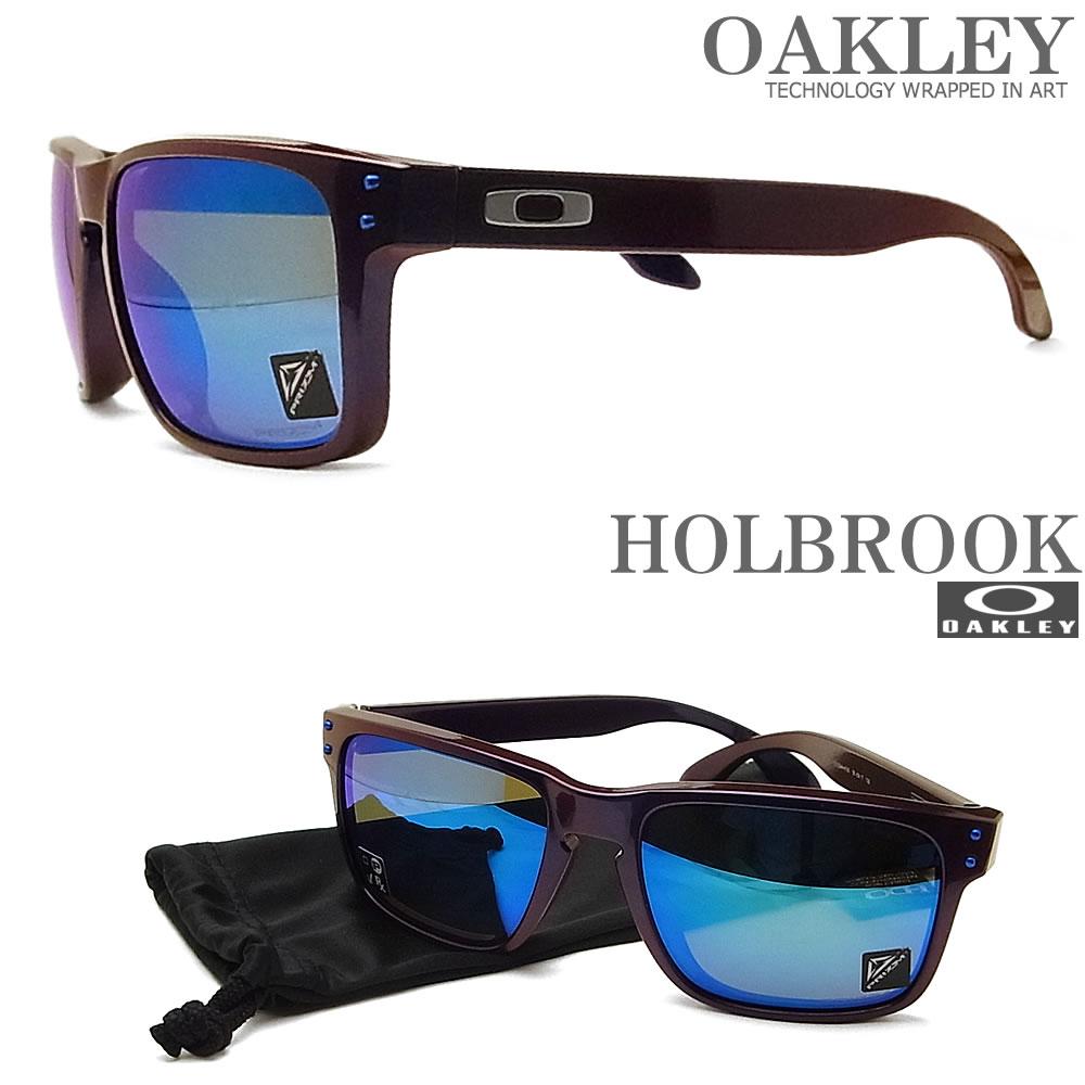OAKLEY オークリー サングラス 009244-4356 アジアンフィット ホルブルック HOLBROOK Prizm Sapphire Iridium ミラーレンズ Journey Collection