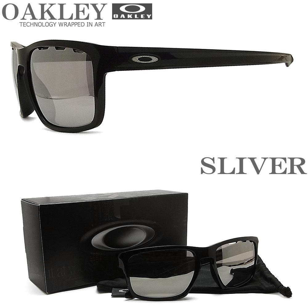OAKLEY オークリー サングラス 009269-1257 スリバー アジアンフィット SLIVER Chrome Iridium ミラーレンズ Polished BLACK ブラック