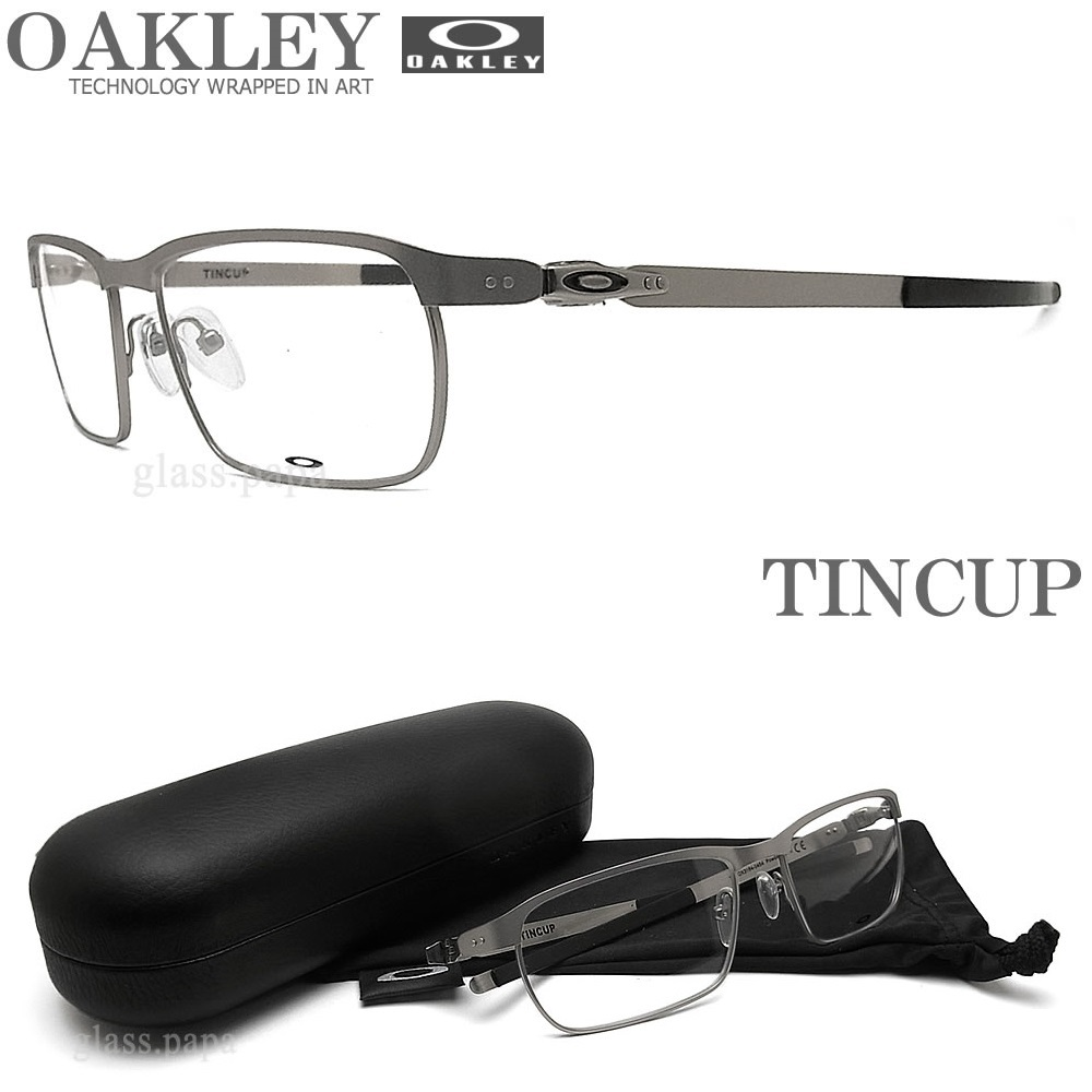 991854dff0 Oakley eyewear OAKLEY  TINCUP Tin  sport mens ITA OX3184-0452 brand glasses  spectacles with grey-Womens glasspapa