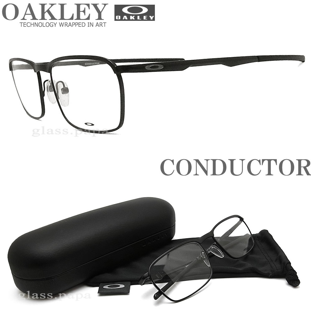fffeb03f998d1 glasspapa  OAKLEY Oakley glasses frame  CONDUCTOR conductor  OX3186 ...