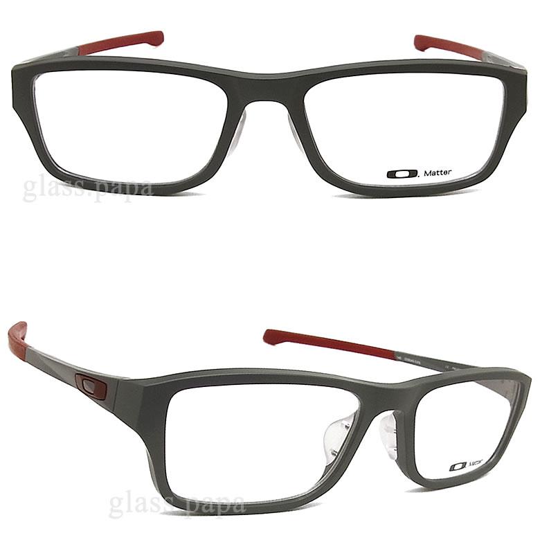 奥克利眼镜OAKLEY[CHAMFER倒角]OX8045-0355(尺寸55)眼镜名牌体育没镜片的眼镜度从属于的灰色人·女士glasspapa
