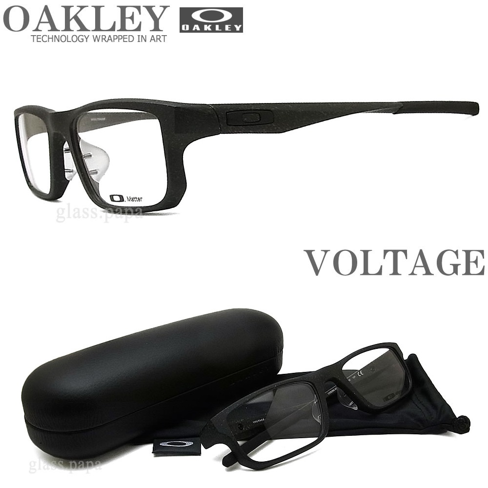 OAKLEY オークリー メガネフレーム [VOLTAGE ボルテージ] OX8066-0553 (サイズ53) 【送料無料・代引手数料無料】 眼鏡 ブランド スポーツ 伊達メガネ 度付き ミックスカラー メンズ・レディース