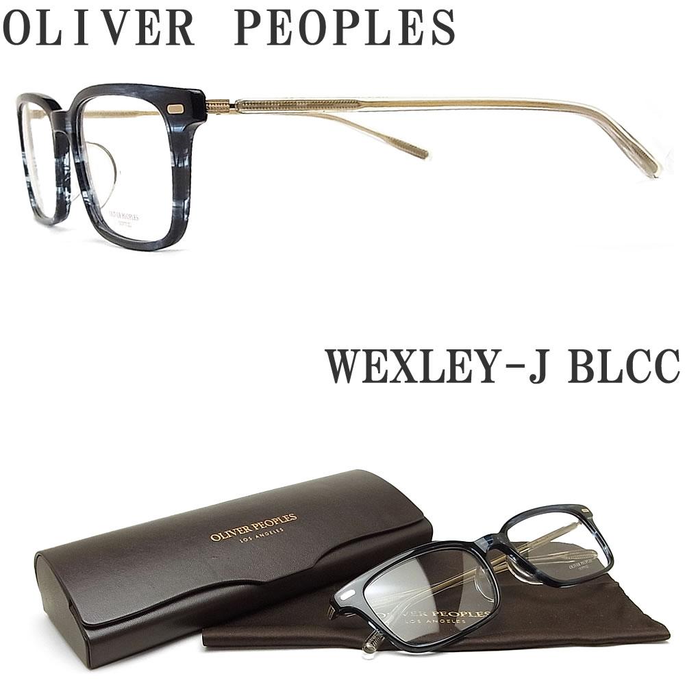 OLIVER PEOPLES オリバーピープルズ メガネフレーム WEXLEY-J BLCC 眼鏡 クラシック 伊達メガネ 度付き ブルー系 メンズ・レディース オリバー メガネ
