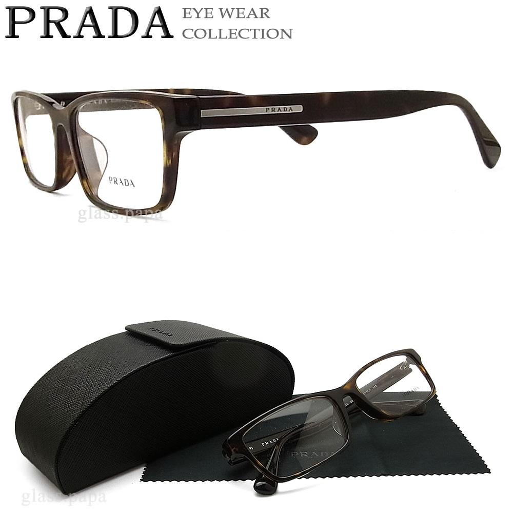 ebf70db15c50 Dark Havana men cell with the Prada glasses PRADA VPR01S-2AU glasses brand  Date glasses ...