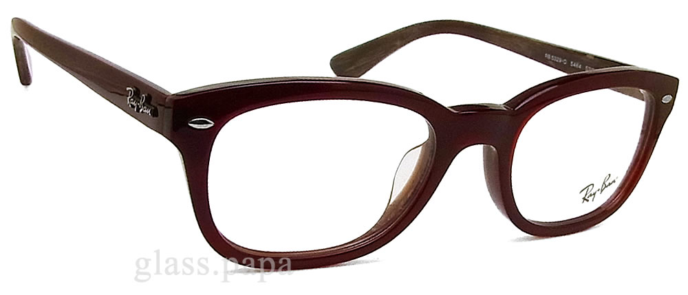 Ray Ban glasses RayBan RB 5329D-5464 Eyewear brand ITA glasses with wine men and Womens ' cell glasspapa