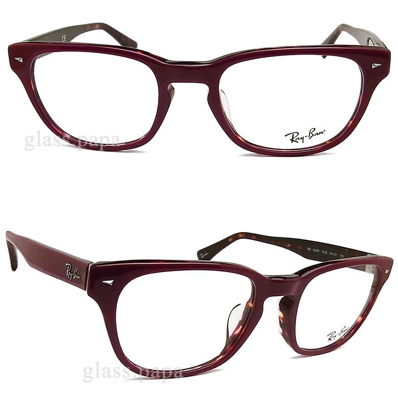 雷斑眼镜RayBan RB5309F-5236尺寸53眼镜名牌没镜片的眼镜度从属于的波尔多人·女士格子glasspapa