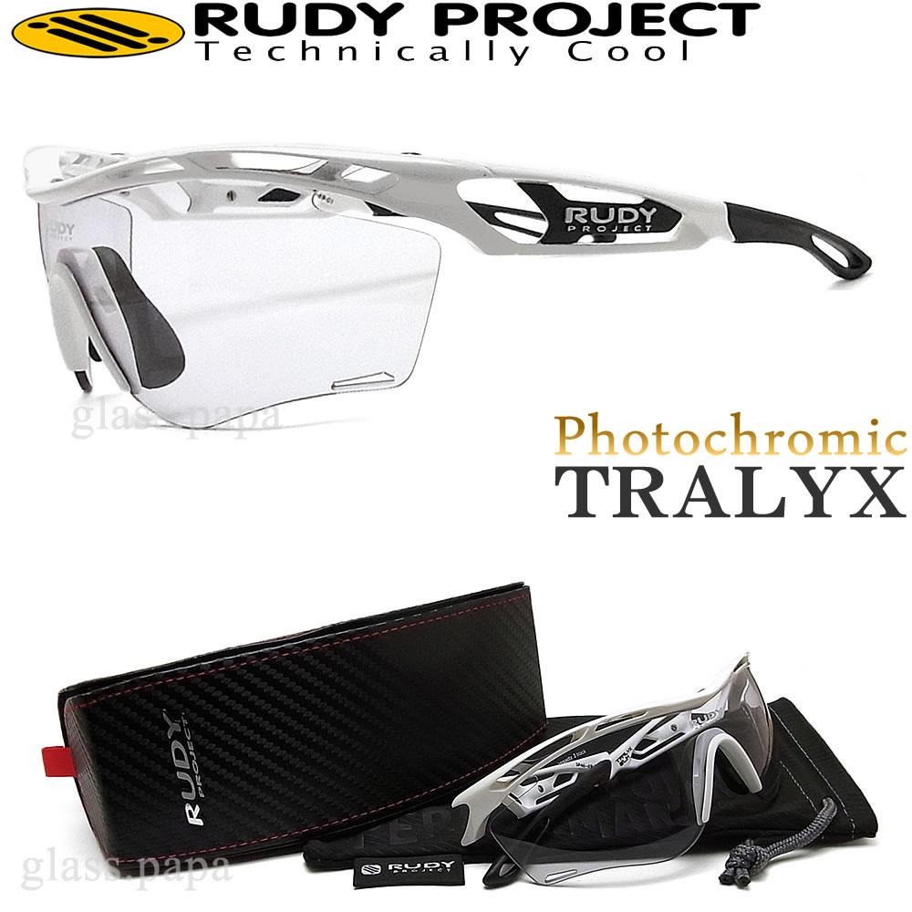 RUDY PROJECT ルディプロジェクト サングラス 【TRALYX SLIM トラリクススリム】 SP467369-0001 調光レンズ スポーツ ゴルフ ランニング サイクル アウトドア