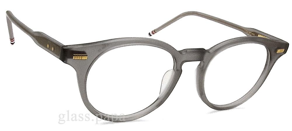 Tom Brown眼镜架子TB-404-C-GRY-49眼镜古典没镜片的眼镜度从属于的垫子清除灰色人·女士glasspapa