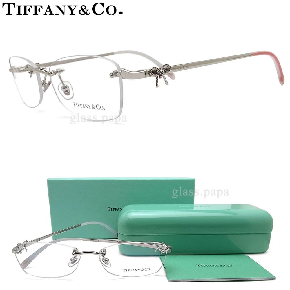 f515c8cf91ae Tiffany TIFFANY  amp  co eyeglass frames TF-1101-6001 Eyewear brand ITA  glasses with silver ladies metal borderless glasspapa