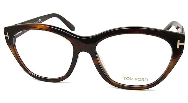 汤姆福特眼镜TOMFORD TF4270-056格子眼镜名牌没镜片的眼镜度从属于的哈瓦那棕色人glasspapa