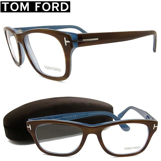 トムフォード メガネ TOMFORD TF5147-056 【送料無料・代引手数料無料】 セル 眼鏡 ブランド 伊達メガネ 度付き ブラウン メンズ 【イタリア製】