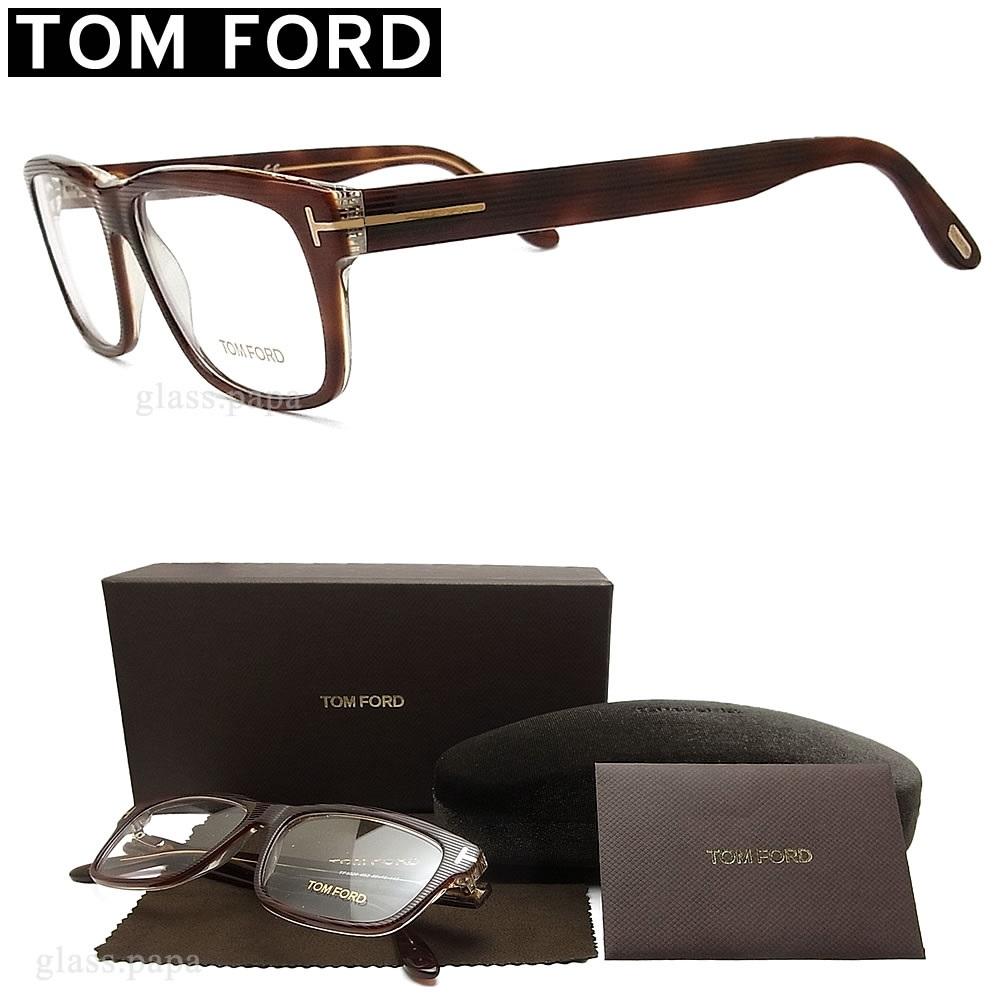 tomford 正規品スーパーSALE×店内全品キャンペーン トムフォード メガネフレーム■ オプションで伊達めがねや度数付き眼鏡に メガネ TOMFORD TF5320-053 日本製 送料無料 代引手数料無料 ブラウンデミ ブランド メンズ セル 伊達メガネ 度付き イタリア製 眼鏡