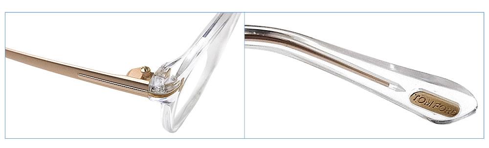 汤姆福特眼镜TOMFORD TF5353-F 026[竹荚鱼安合身]意大利制造眼镜名牌没镜片的眼镜度从属于的清除人格子glasspapa