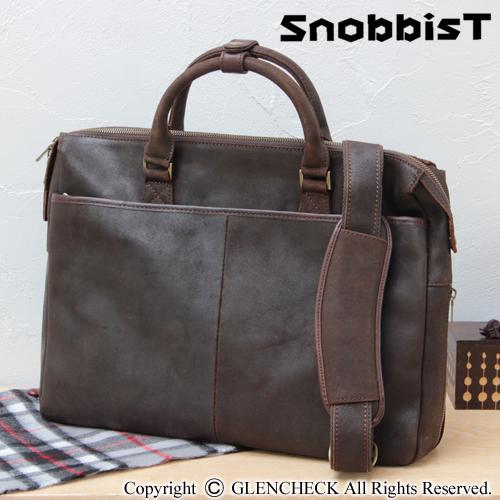 オイルドレザーブ Briefcase ( oily spirit ) cowhide and leather
