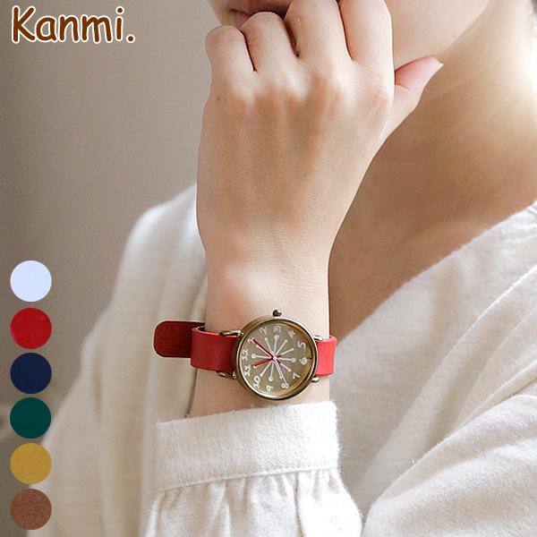 【送料無料】Kanmi. coco watch ミルク WA16-04【レディース】【 Kanmi. 】【カンミ】【日本製】[腕時計][ウォッチ][母の日ギフト][名入れ無料] スタッフおすすめ