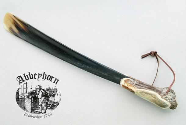 [名入れ無料]【送料無料】アビホーン社カウホーン靴べら 56cm SHT グレンフィールド
