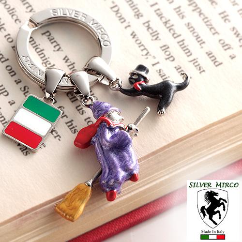 イタリア製シルバーキーリング 魔女/SILVER MIRCO グレンフィールド