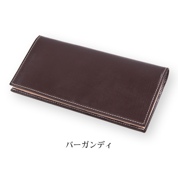 [Free Name-Engraving Service] Bridle Leather Long Wallet [British Green]