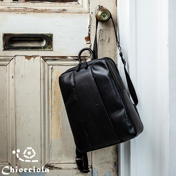 シープスキン 軽量 リュック [Chiocciola/キオッチョラ] バッグ A4サイズ対応 A4対応 レディース 女性 本革 羊革 [送料無料]