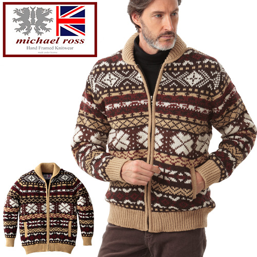 GLENCHECK | Rakuten Global Market: Fair Isle lining sweater ...