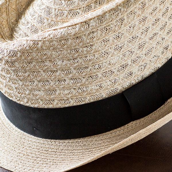 イタリア製ヘンプハット [SORBATTI ソルバッティ パナマハット 麻 麦わらぼうし メンズ 麦わら帽子  帽子 夏]   グレンフィールド[panahat]