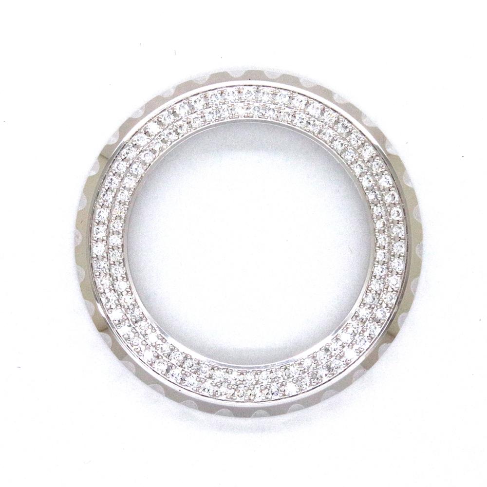 シャネル(CHANEL)J12 ジェイトゥエルヴ 33mm用 2重ダイヤモンドベゼル〔腕時計〕〔VSクラス〕〔レディース〕〔新品〕