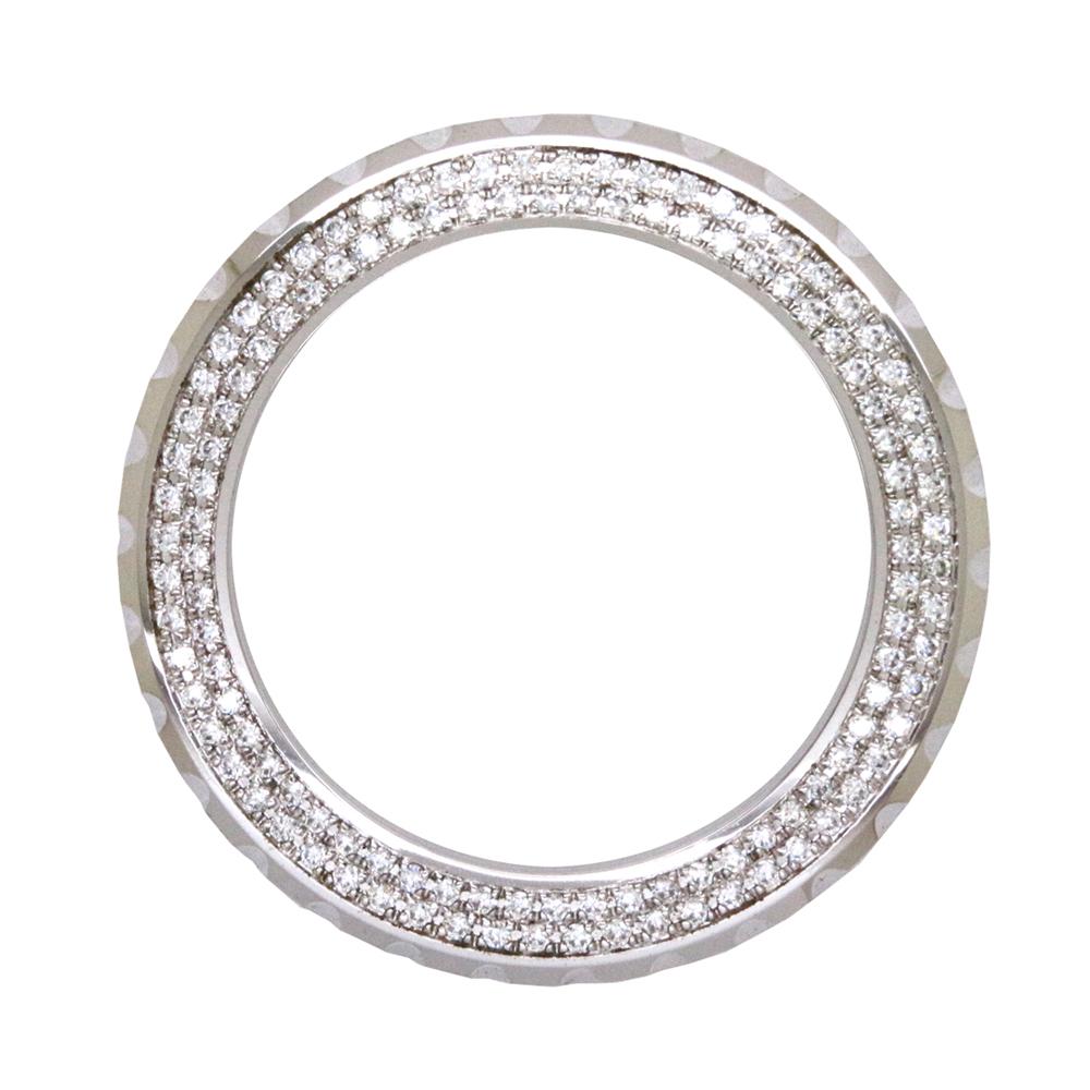 シャネル(CHANEL)J12 ジェイトゥエルヴ 41mm用 2重ダイヤモンドベゼル〔腕時計〕〔VSクラス〕〔新品〕〔メンズ〕