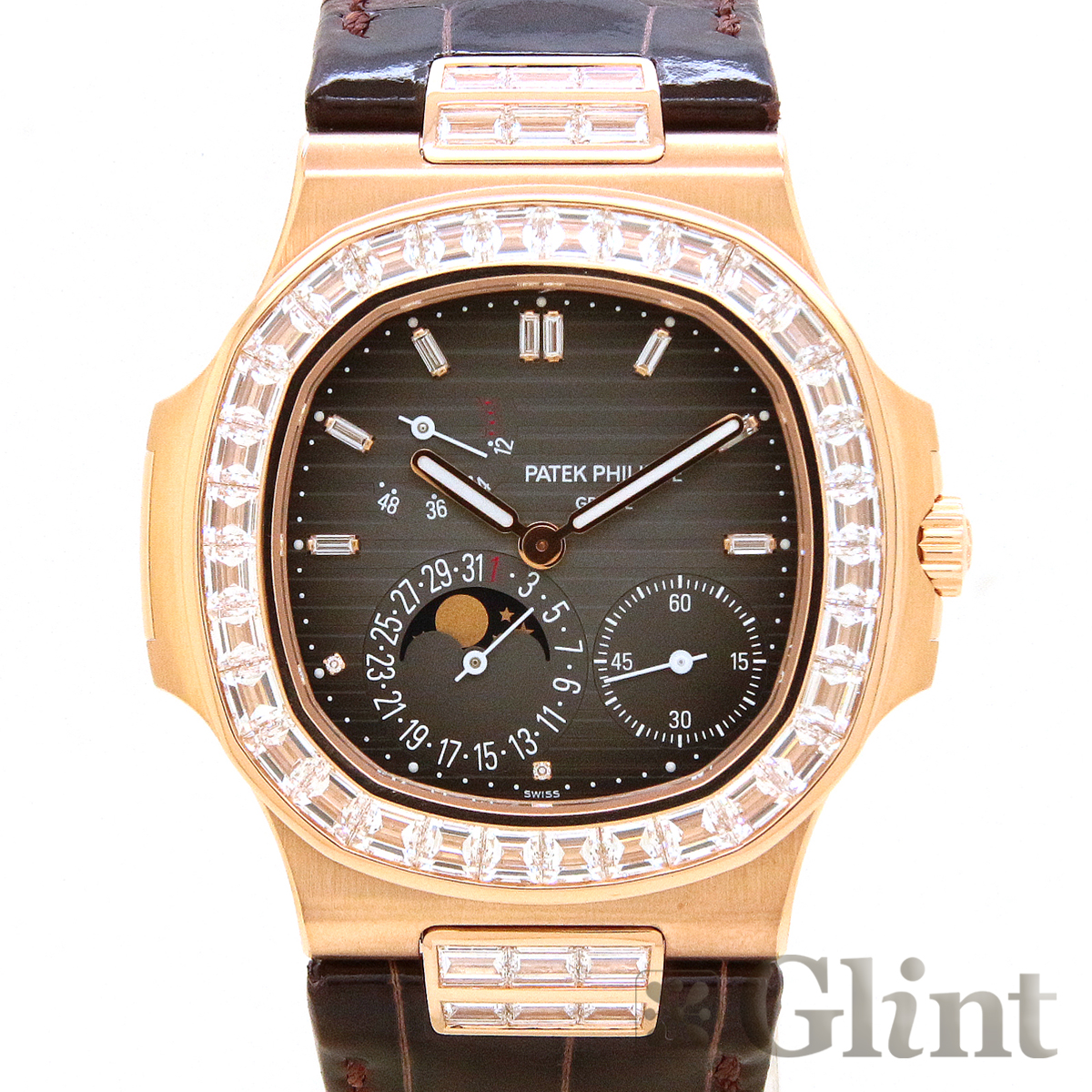 Glint Os パテックフィリップ Patek Philippe Nautilus 5724r 001