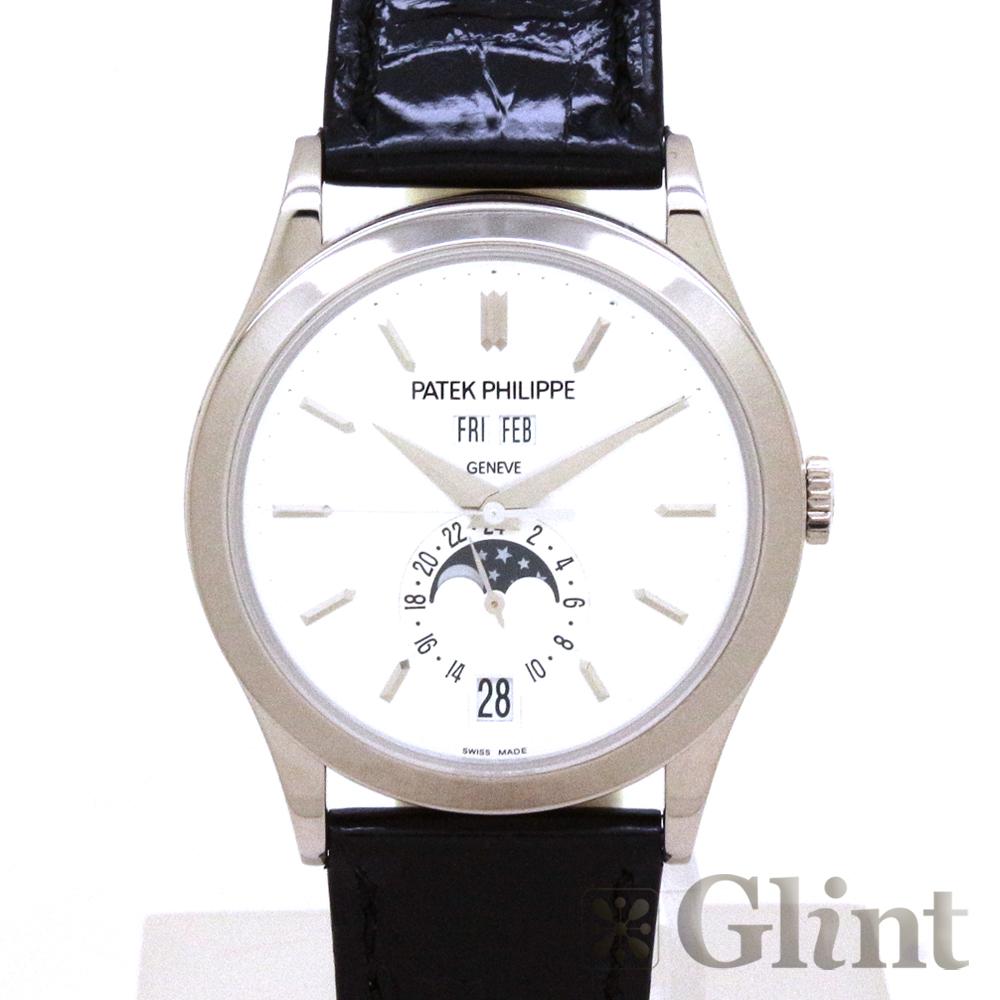 パテックフィリップ(PATEKPHILIPPE) アニュアルカレンダー 5396G-011 ホワイトゴールド〔腕時計〕〔メンズ〕【中古】