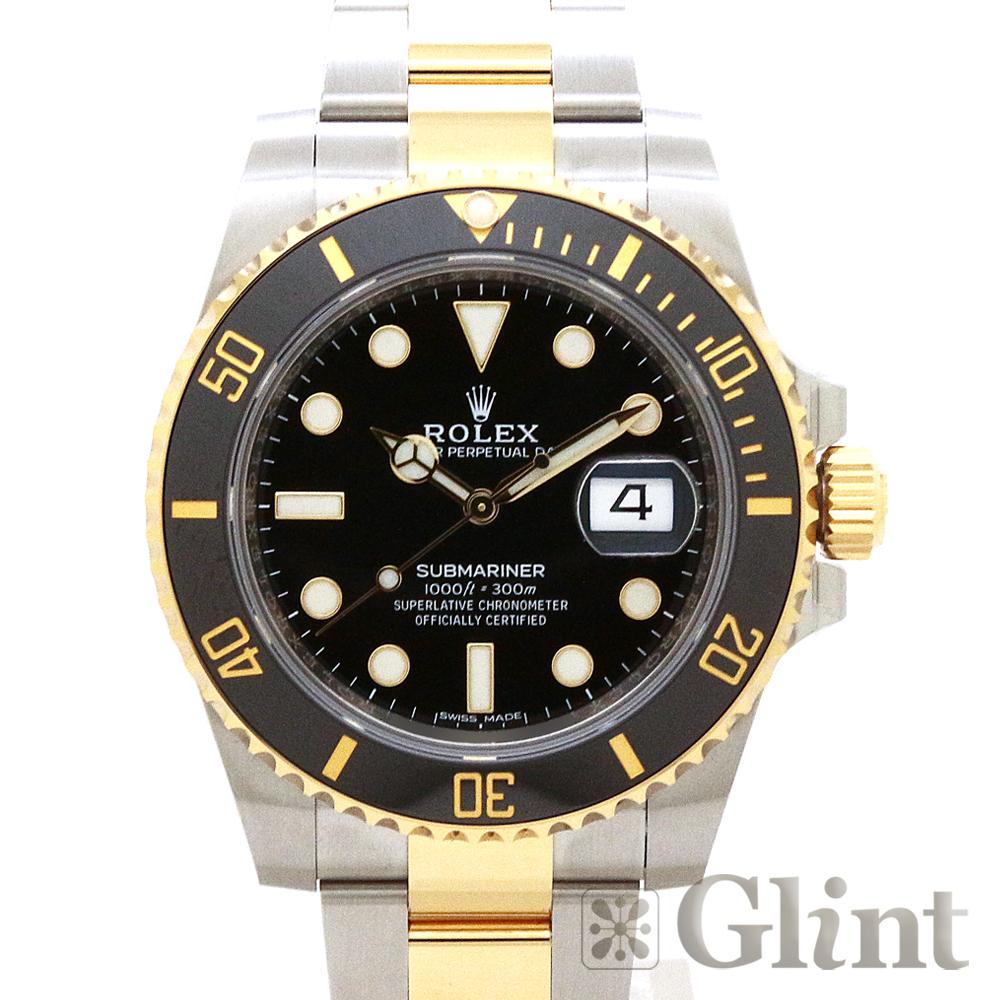 ロレックス(ROLEX)サブマリーナーデイト 116613LN〔腕時計〕〔メンズ〕〔2019年7月/ランダムシリアル〕〔未使用品〕【中古】
