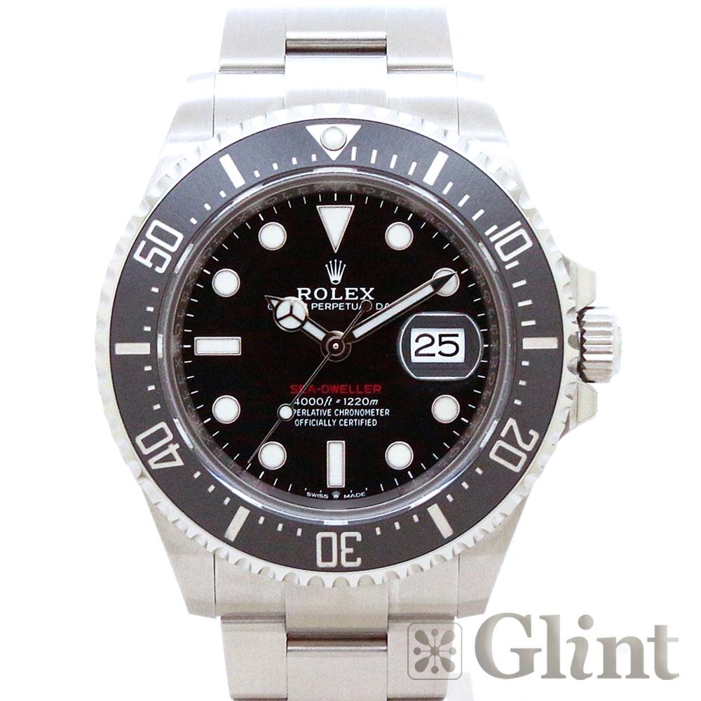 ロレックス(ROLEX)シードゥエラー 126600 43mm〔腕時計〕〔メンズ〕〔2019年3月/ランダムシリアル〕〔新品〕