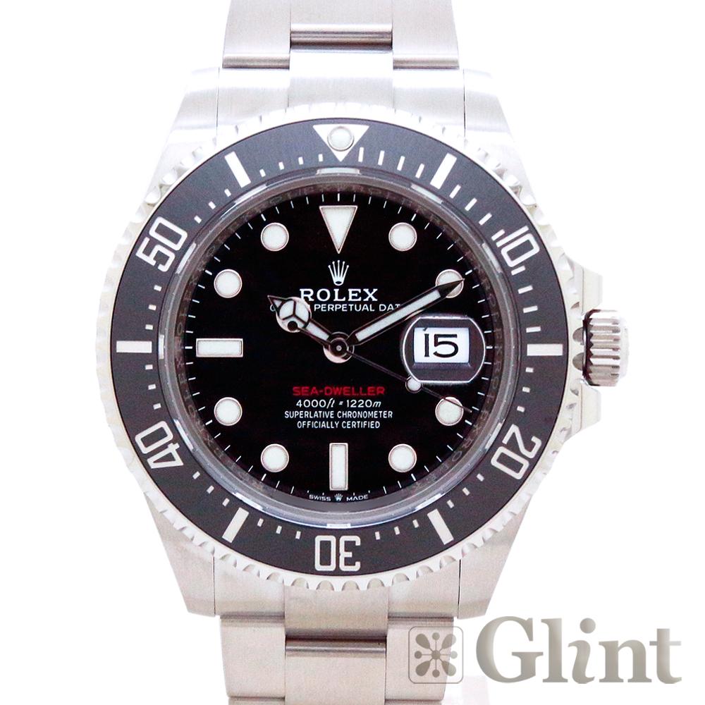 ロレックス(ROLEX)シードゥエラー 126600 43mm〔腕時計〕〔メンズ〕〔2020年2月/ランダムシリアル〕〔未使用品〕【中古】