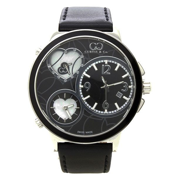 CURTIS&Co(カーティス)BIG TIME LOVE(Black) カーティス ビックタイムラブ50mm【腕時計】