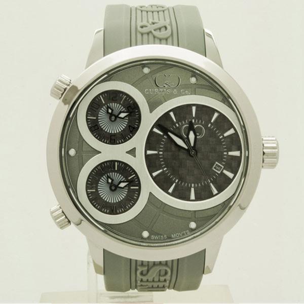 CURTIS&Co(カーティス)BIG TIME WORLD 50mm(Gray) カーティス ビックタイムワールド50mm【腕時計】