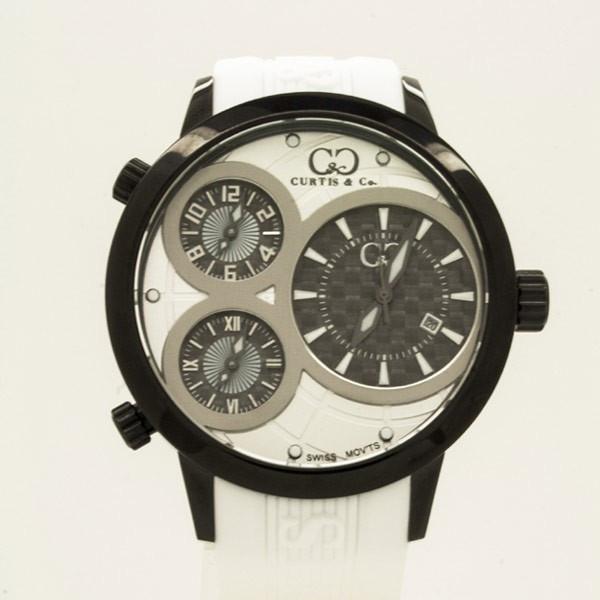CURTIS&Co(カーティス)BIG TIME WORLD 50mm(White/BC) カーティス ビックタイムワールド50mm【腕時計】