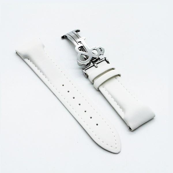 JACOB&Co(ジェイコブ)40mm(ラグ幅20mm)専用純正バンド(ポリウレタンラバーベルト) ホワイト〔ストラップ〕〔ショートサイズ〕〔新品〕