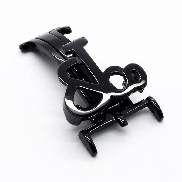 JACOB&Co(ジェイコブ)47mm(ラグ幅22mm)専用純正フォールディングバックル/ブラックケース〔ベルト〕〔新品〕〔即日発送〕