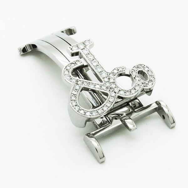 JACOB&Co(ジェイコブ)47mm(ラグ幅22mm)専用ダイヤモンドバックル(ダイヤモンド)〔ベルト〕〔新品〕〔即日発送〕