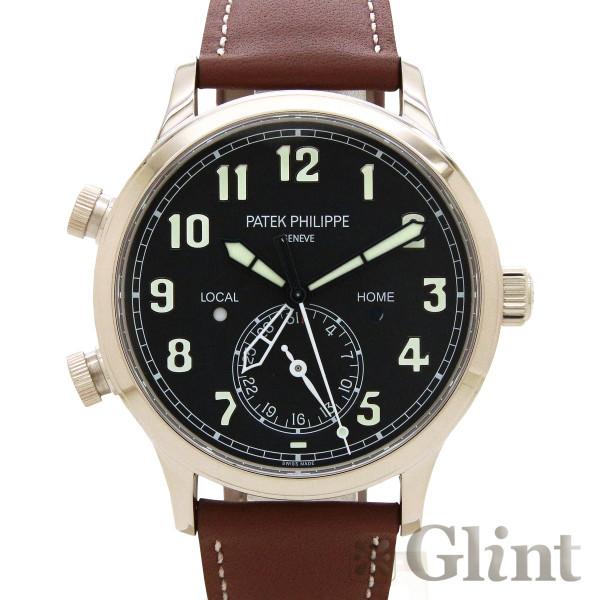 パテックフィリップ(PATEKPHILIPPE)カラトラバ・パイロット・トラベルタイム 5524G-001〔国内正規品〕〔腕時計〕〔未使用品〕〔メンズ〕