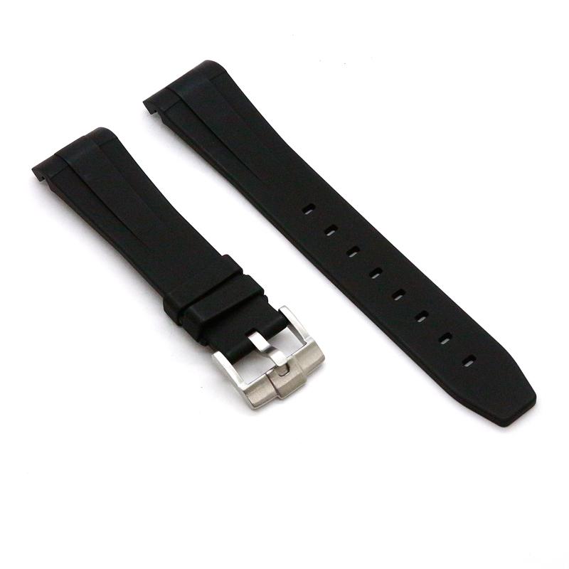 ラバーB【RUBBERB】ROLEX デイデイト40専用ラバーベルト 色:ブラック【尾錠付き】〔メンズ〕〔ラバーバンド〕※時計は付属しません
