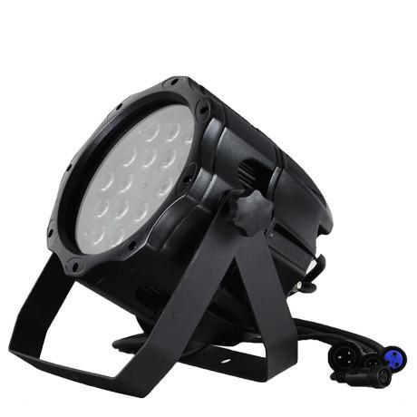 防水屋外 LEDPAR64 RGBW 18灯×12W 4in1 舞台照明