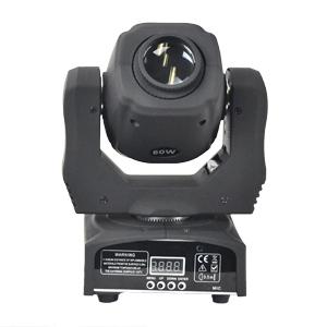高輝度 LED 60W 超軽量MINI ムービングスポット