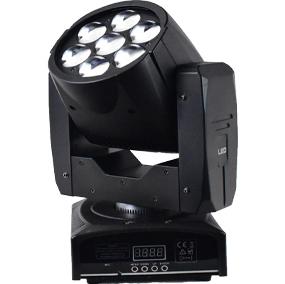 LED(OSRAM)7×12W ズーム付きムービングエフェクトライト RGBW 4in1