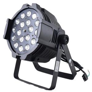 ズーム搭載LEDパーライト RGBW 18灯×12W ~4in1 舞台照明