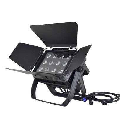 防水 LEDウォッシュライト/RGB+W/12灯×12W ~4in1バンドア付き