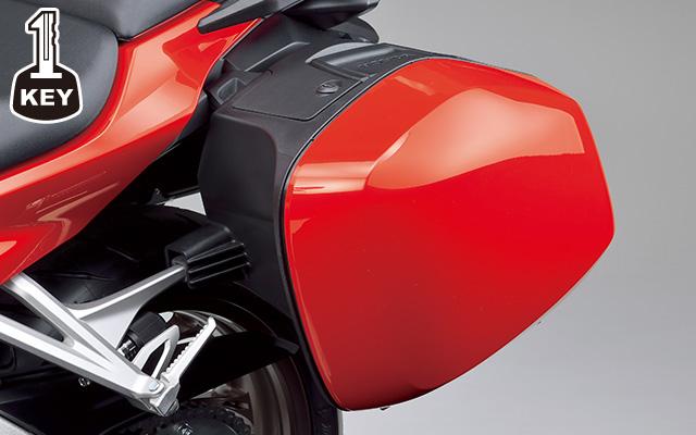【ホンダ純正】 VFR800F17年モデル パニアケース(ワン・キー・システムタイプ) VFR800F(RC79)【08L70MJMDc】【HONDA】