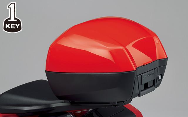 【ホンダ純正】 VFR800X17年モデル トップボックス 33L(ワン・キー・システムタイプ) VFR800X(RC80)【08L71MJMRC80】【HONDA】