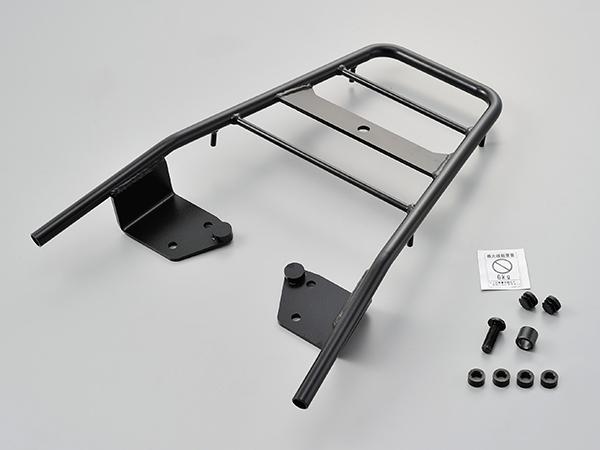 【デイトナ(DAYTONA)】 SUZUKI スズキ GSR250/F/S('12~)【シートに被るほど荷台が長いので、大きな荷物も安心して積載できる、グラブバータイプのすっきりしたデザインの使いやすいキャリア。】